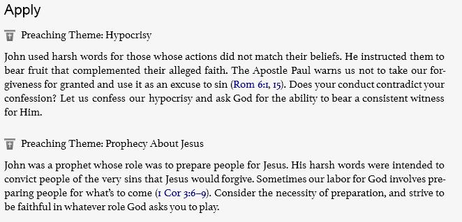 Luke 3.1-20 Apply
